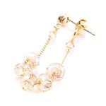 CRYSTAL SHOP silver earring E_0084