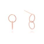 Milton Stelle Silver earring MSJ-SE169001RGOO
